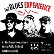 The Blues Experience live al Giugrà